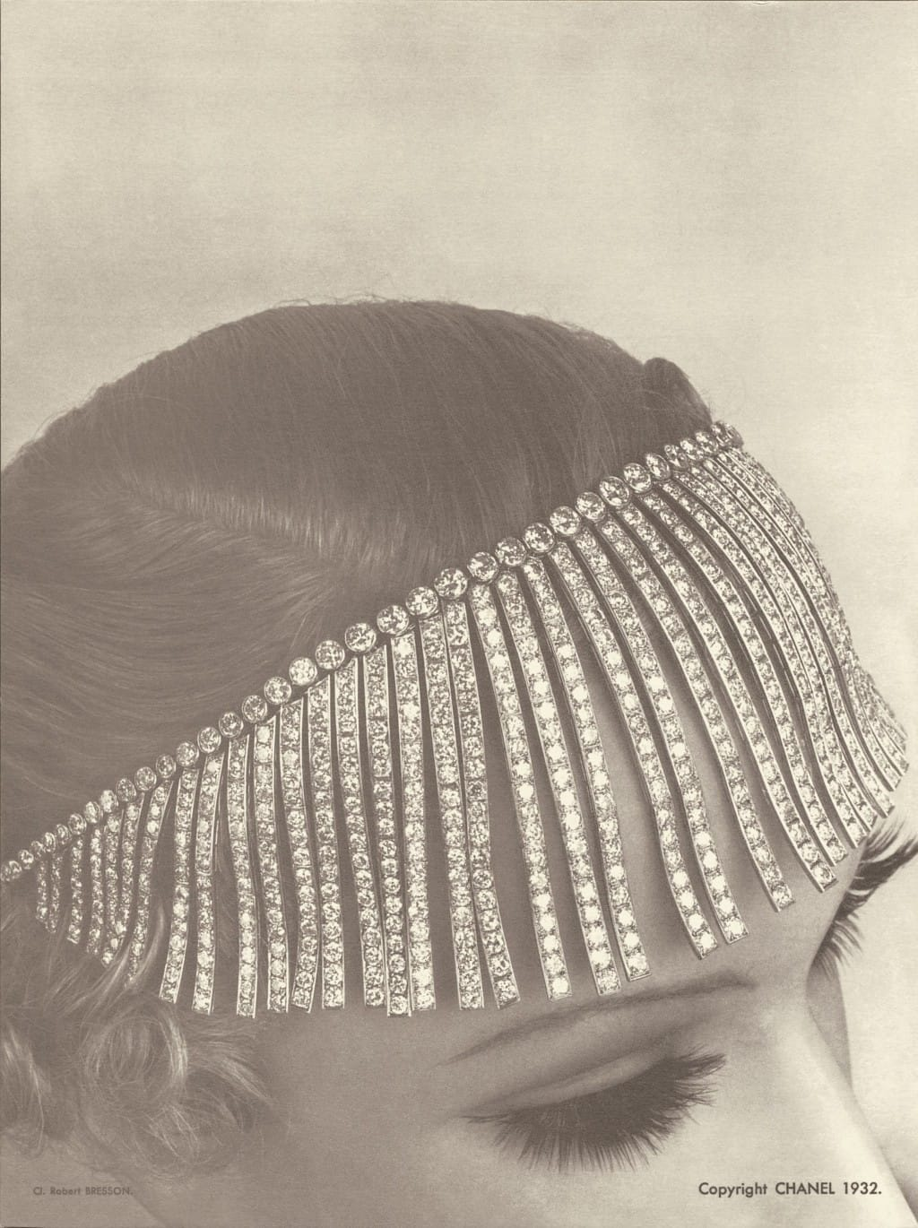 Franges Necklace from original Chanel Bijoux des Diamantes collection 1932