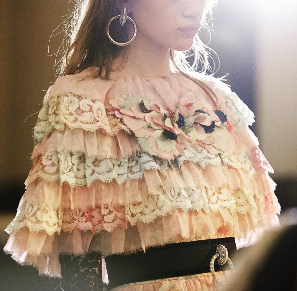 Chanel Metiers D'art Rome Detail Shot
